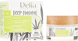 Fragrances, Perfumes, Cosmetics Nourishing day and Night Cream for All Types of Skin - Delia Cosmetics Keep Natural Nourishing Cream