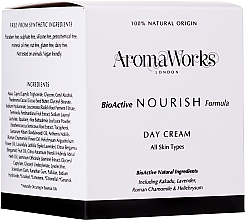 Fragrances, Perfumes, Cosmetics Nourishing Day Cream - AromaWorks Nourish Day Cream