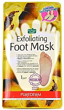 Fragrances, Perfumes, Cosmetics Foot Peeling Mask - Purederm Exfoliating Foot Mask