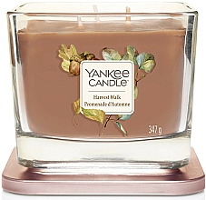 Fragrances, Perfumes, Cosmetics Scented Candle - Yankee Candle Elevation Harvest Walk