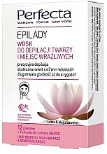 Fragrances, Perfumes, Cosmetics Depilatory Wax for Face and Sensitive Areas - Perfecta Epilady