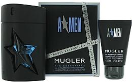 Fragrances, Perfumes, Cosmetics Mugler A Men - Set (edt/100 + sh/g/50)