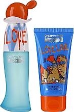 Fragrances, Perfumes, Cosmetics Moschino I Love Love - Set (edt/30ml + b/lot/50ml)