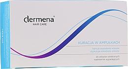 Fragrances, Perfumes, Cosmetics Women Anti Hair Loss Ampoules - Dermena Hair Care Ampoules Against Hair Loss