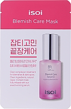 Fragrances, Perfumes, Cosmetics Moisturizing Whitening Face Mask - Isoi Bulgarian Rose Blemish Care Mask