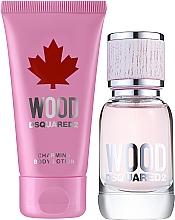 Fragrances, Perfumes, Cosmetics Dsquared2 Wood Pour Femme - Set (edt/30ml + b/lot/50ml)