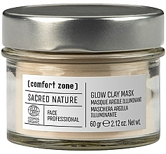 Fragrances, Perfumes, Cosmetics Face Mask - Comfort Zone Sacred Nature Glow Clay Mask