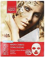 Fragrances, Perfumes, Cosmetics Snail Face Mask - Czyste Piekno Bosca Snail Face Mask