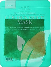 Fragrances, Perfumes, Cosmetics Soothing Facial Sheet Mask - Elroel Golden Hour Mask Green Tea Soothing
