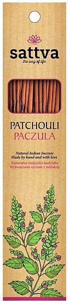 "Scented Sticks ""Patchouli"" - Sattva Patchouli"