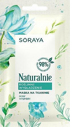 Smoothing Sheet Mask - Soraya Naturalnie Mask