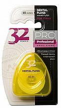 Fragrances, Perfumes, Cosmetics 32 Pearls PRO Dental Floss, yellow case - Modum 32 Pearls Dental Floss