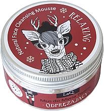 Fragrances, Perfumes, Cosmetics Pralinka Cleansing Face Mousse - LaQ Natural Face Cleansing Mousse Relaxing Pralinka