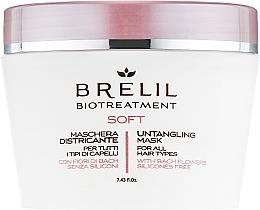 Fragrances, Perfumes, Cosmetics Unruly Hair Mask - Brelil Bio Treatment Soft Untangling Mask