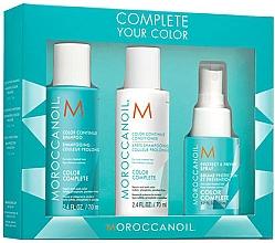 Fragrances, Perfumes, Cosmetics Set - Moroccanoil Travel Kit Color Complete (shm/70ml + cond/70ml + spray/50ml)