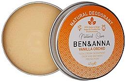 Fragrances, Perfumes, Cosmetics Natural Creamy Deodorant - Ben & Anna Vanilla Orchid Soda Cream Deodorant
