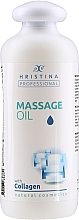 Fragrances, Perfumes, Cosmetics Collagen Massage Oil - Hristina Professional Massage Oil With Collagen