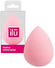 Fragrances, Perfumes, Cosmetics Raindrop Makeup Sponge, pink - Ilu Sponge Raindrop Pink