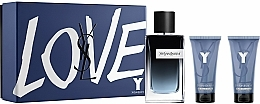 Fragrances, Perfumes, Cosmetics Yves Saint Laurent Y - Set (edp/100ml + sh/gel/50ml + balm/50ml)