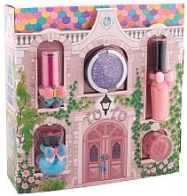 "Fragrances, Perfumes, Cosmetics Makeup Set ""Magic Cottage"" - Tutu Cottage set (balm/4ml+gloss/lip/7ml+polish/5ml+eye/cheek/shadow/4,5ml+eye/lip/cheek/shadow/4,5ml)"