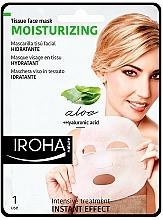 Fragrances, Perfumes, Cosmetics Face Sheet Mask - Iroha Nature Moisturizing Aloe Tissue Face Mask