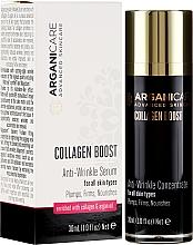 Fragrances, Perfumes, Cosmetics Anti-Wrinkle Serum - Arganicare Collagen Boost Anti-Wrinkle Serum