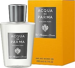Fragrances, Perfumes, Cosmetics Acqua di Parma Colonia Pura Hair and Shower Gel - Shower Gel
