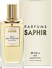 Fragrances, Perfumes, Cosmetics Saphir Parfums Oui De Saphir - Eau de Parfum