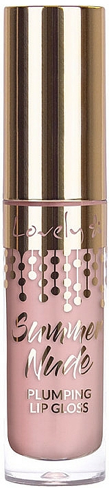 Plumping Lip Gloss - Lovely Summer Nude Plumping Lip Gloss