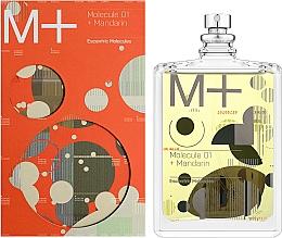 Escentric Molecules Molecule 01 + Mandarin - Eau de Toilette — photo N2