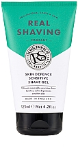 Fragrances, Perfumes, Cosmetics Shaving Gel for Sensitive Skin - The Real Shaving Co. Skin Defence Sensitive Shave Gel