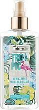"Fragrances, Perfumes, Cosmetics Moisturizing Essential Oil Spray ""Green Tea & Gardenia"" - Bielenda Tropic Vibes"