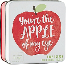 Fragrances, Perfumes, Cosmetics Apple Body Soap - Scottish Fine Soap In A Tin Fruits Apple Soap