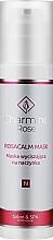 Fragrances, Perfumes, Cosmetics Soothing Capillary Mask - Charmine Rose Rosacalm Mask