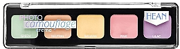 Fragrances, Perfumes, Cosmetics Cream Concealer Palette - Hean Photo Camouflage Cream Concealer Palette