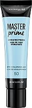Fragrances, Perfumes, Cosmetics Corrrecting Makeup Primer - Maybelline Master Prime 50 Hydrating