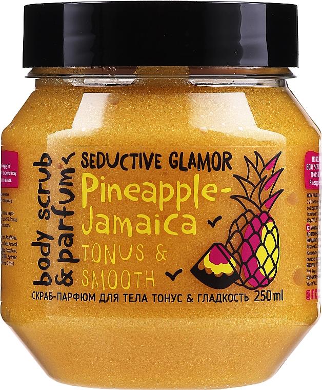 Tonus & Smoothness Body Scrub - MonoLove Bio Pineapple-Jamaica Tonus & Smoothness Scrub