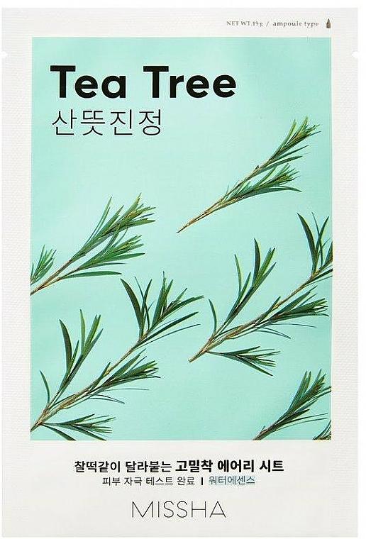Tea Tree Extract Face Mask - Missha Airy Fit Tea Tree Sheet Mask
