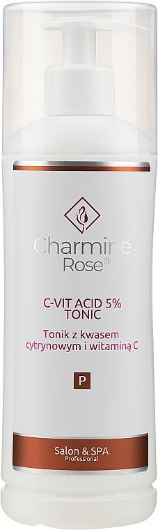 Citric acid and vitamin C Tonic - Charmine Rose C-Vit Acid 5% — photo N3