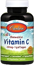 Fragrances, Perfumes, Cosmetics Vitamin C Dietary Supplement, chewable tablets - Carlson Labs Kid's Chewable Vitamin C