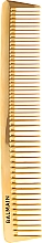 Fragrances, Perfumes, Cosmetics Professional Golden Cutting Comb - Balmain Paris Hair Couture Golden Cutting Comb