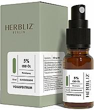 Fragrances, Perfumes, Cosmetics Olive Oil Mouth Spray 5% - Herbliz CBD Olive Fresh Oil Mouth Spray 5%