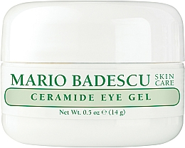 Fragrances, Perfumes, Cosmetics Nourishing Eye Gel - Mario Badescu Ceramide Eye Gel