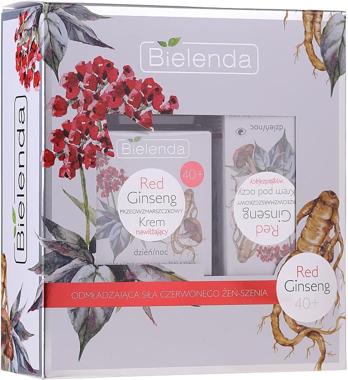 Set - Bielenda Red Ginseng 40+ (cr/50ml + eye/cr/15ml)