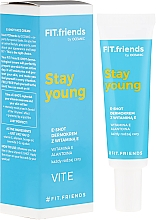 Fragrances, Perfumes, Cosmetics Dermocream for Face with Vitamin E - AA Fit.Friends Stay Young E-Shot Dermocream
