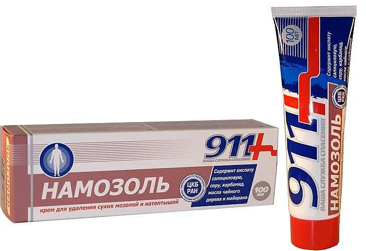 """Dry Calluse & Corns Remover Cream """"Namazol"""" - 911"""