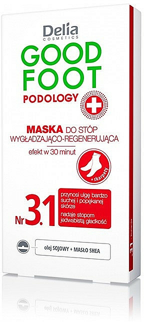 Foot Mask - Delia Cosmetics Good Foot Podology Nr 3.1