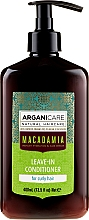 Fragrances, Perfumes, Cosmetics Leave-In Curly Hair Conditioner - Arganicare Macadamia Leave-In Conditioner