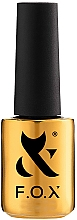 Fragrances, Perfumes, Cosmetics Nail Gel Polish - F.O.X Gold Spectrum Gel Vinyl (037)