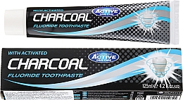Fragrances, Perfumes, Cosmetics Activated Charcoal Toothpaste - Beauty Formulas Charcoal Activated Fluoride Toothpaste